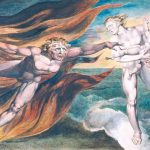The Good and Evil Angels 1795-?c. 1805 William Blake 1757-1827 Presented by W. Graham Robertson 1939 http://www.tate.org.uk/art/work/N05057